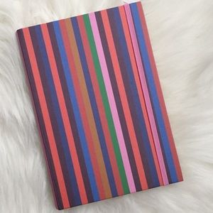madewell | rainbow striped journal